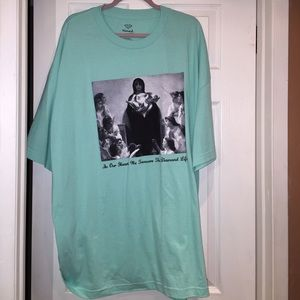 Diamond Supply Co. Tops - Aqua color tee Diamond size 3 X