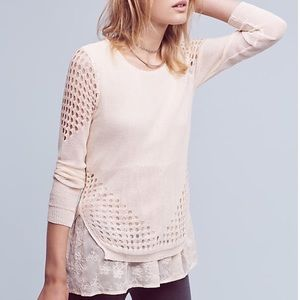 Anthropologie Sweaters - Anthropologie Layered Pullover