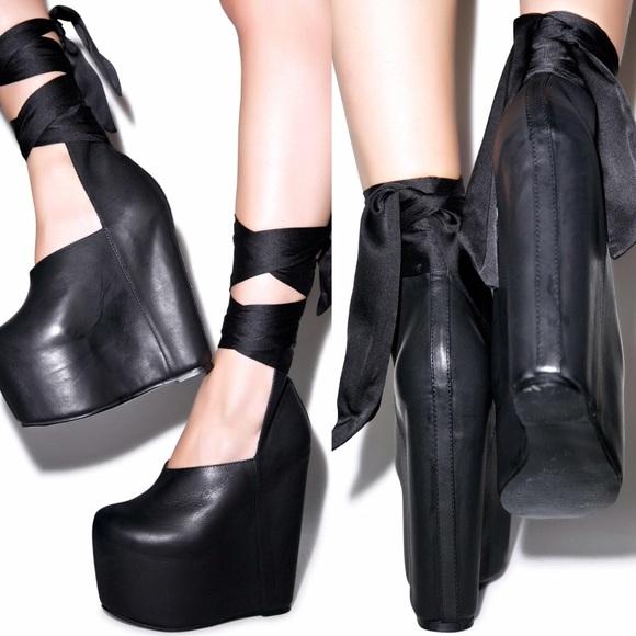 Unif Shoes Leland Platform Heels Poshmark