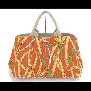 PRADA Shopping Tote Bag Purse