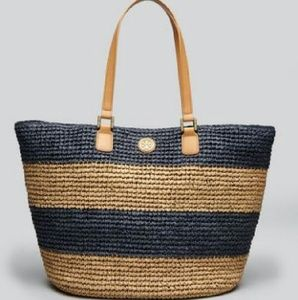 Authentic Tory Burch Chunky striped  tote. NWT