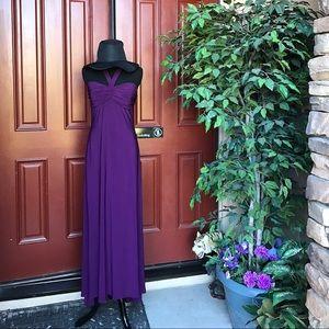 Dresses & Skirts - Purple dress SZ 10 stretch