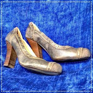 Seychelles Leather Heels