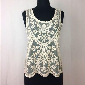 Jolt Tops - ☀️Jolt • Ivory Crochet Top
