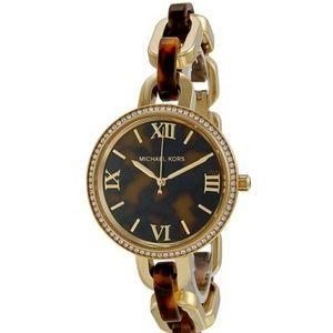 Michael Kors Jewelry - Michael Kors Delaney Tortoise Watch