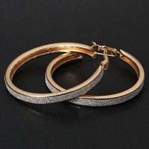 Jewelry - Crystal Hoops