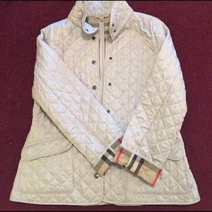 Burberry diamond quilted jacked (XL)- NWOT