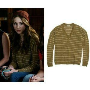Madewell Striped Lightweight Sweater size S