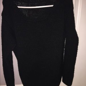Sweaters - Black comfy oversized sweater