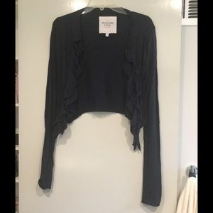 Abercrombie and Fitch Navy Blue Sweater
