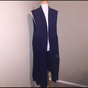 Free People Tops - Free PeopleOne Size Long Duster/Vest