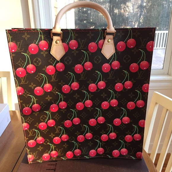 Louis Vuitton Handbags - Louis Vuitton cerises (cherry) Mono Sac Plat bag 7172027833997