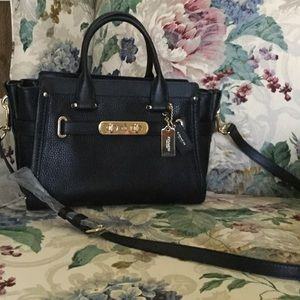 Coach Bags - Coach Swagger 27 in Pebble Leather 26547cf437