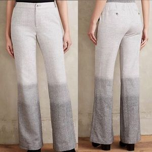 Anthropologie Elevenses Ombré Trouser Pants 6