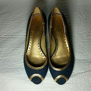 BCBGirls Shoes - BCBGirls Open Toe Wedges