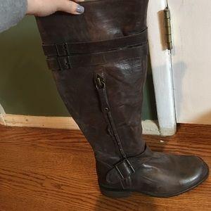 Miz mooz kellen brown distressed boot