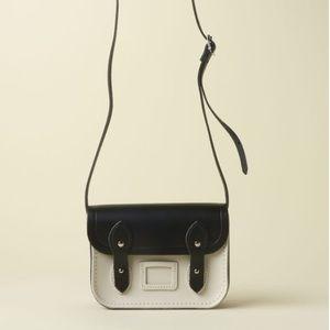 The Cambridge Satchel Company Handbags - Cambridge Satchel Co Tiny Satchel Black and Cream