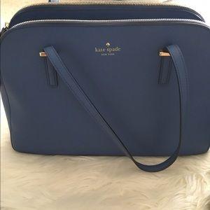 kate spade Handbags - Beautiful Blue Kate Spade Shoulder Bag