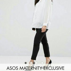 ASOS Maternity Pants - Asos Maternity Work Wear Ankle Grazer Pant