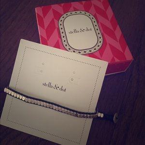 Stella + Dot Nugget Wrap Bracelet