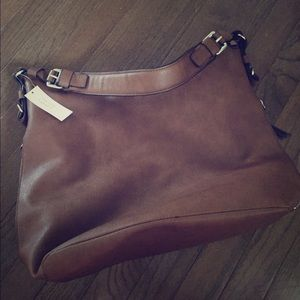Banana Republic camel color bag