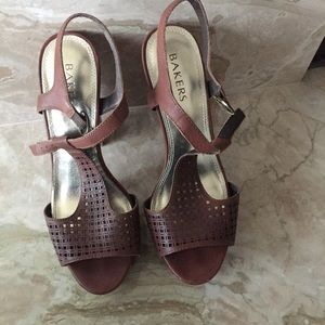 Bakers Shoes - Bakers Summer Dress Sandal Heels