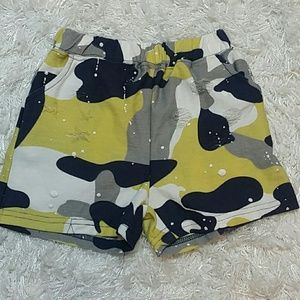 Other - Distressed Camouflage Shorts. Kids
