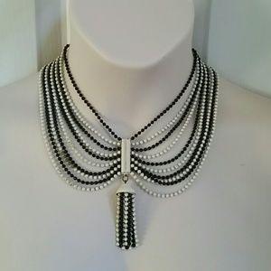 100+ Years Old Vintage Metal Bead Necklace