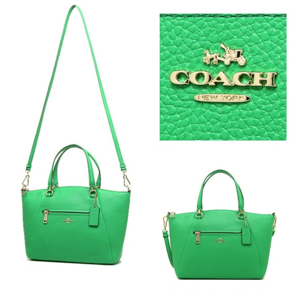 7be66e0e9fcc Coach PRAIRIE satchel pebble leather crossbody