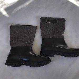Storm By Cougar Seville Quilted Rain Boot