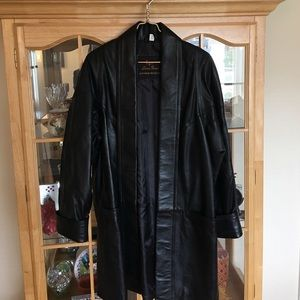 Lucien Piccard Jackets & Blazers - NWT black leather jacket for women