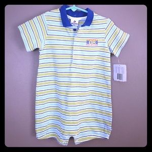 Absorba Other - Adorable polo style shorts romper, NWT