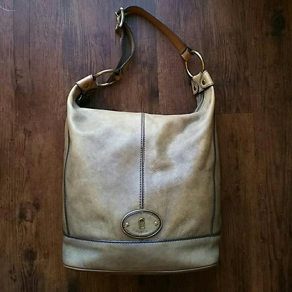 429cc178fd Fossil Handbags - 🗝Fossil Vintage Reissue Tan Hobo   Satchel Bundle