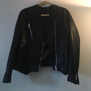 Blank NYC Jackets & Blazers - Blank NYC Size L faux leather jacket