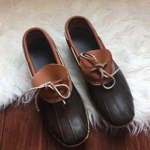 L.L. Bean Shoes -   L.L.Bean   Winter Ankle Duck Boots