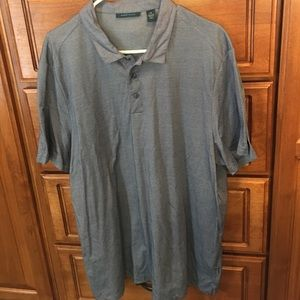 Perry Ellis Other - Men's Perry Ellis Blue Polo Shirt XXL NWOT