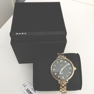 NEW Marc by Marc Jacobs Slim Gold Watch