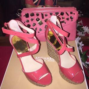 KORS Michael Kors Shoes - 🔥 SALE🔥 Michael Kors Gabriella Watermelon