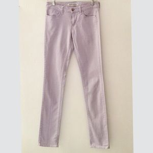 ✨UNIQLO Skinny Mid-Rise Jeans in Dusty Purple✨