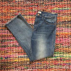 Madewell Denim - NWT Madewell High Riser Demi Boot Jeans w/Fringe
