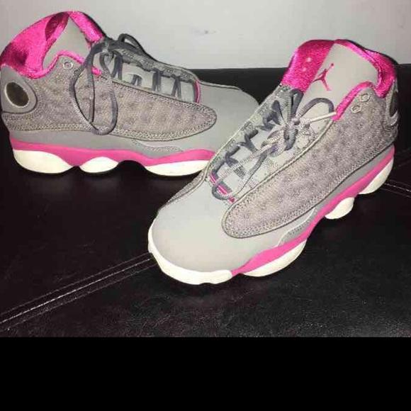 f6380298a96d Jordan Shoes - Nike Air Jordan Cool Grey Fusion Pink Retro 13