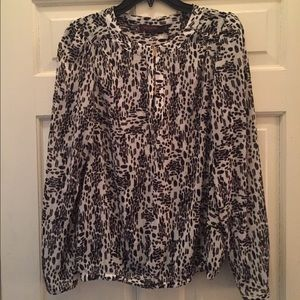 Long sleeve blouse from The Limited