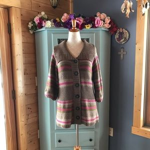 Old Navy Sweaters - Beautiful Lambswool Blend Sweater Cardigan. SOFT!