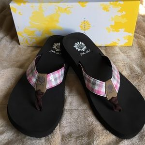 Yellow Box Shoes - Yellow Box Flip Flops