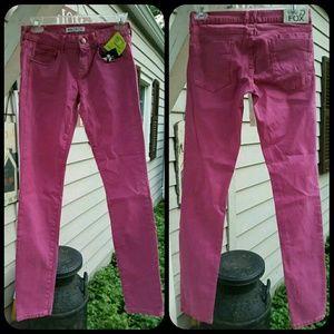 Wildfox Denim - Wildfox TATTERED STITCH Distressed Skinny Jeans