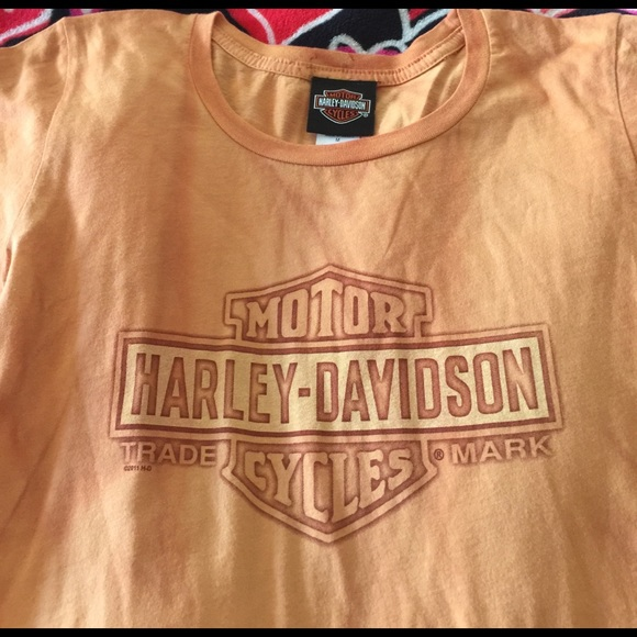 Harley Davidson Tops Authentic Original Harley Davidson T Shirt M