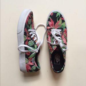 New Flower Vans sz 9