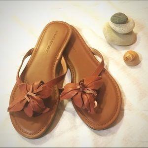  Banana Republic Leather Sandals 7