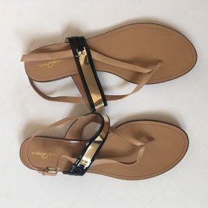 Halogen Shoes - Halogen NEW Black & gold sandals