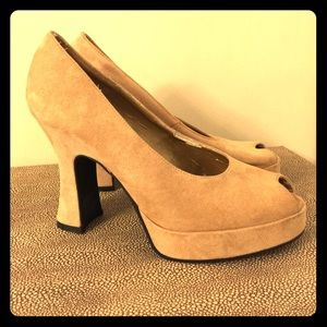 Chinese Laundry Shoes - Chinese Laundry Suede Heel